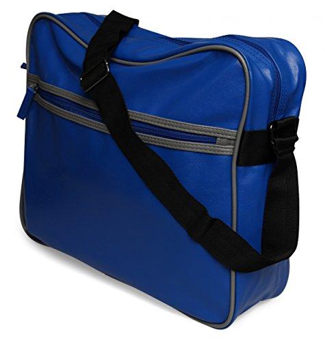 Sintético Cruzados Mujer Real Stylebreaker De Azul Material Bolso Para qpxYIO5w