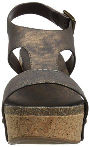 Sandal WoMen Wedge Junebug Bronze Sugar Metallic x8wP7q
