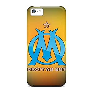 Eco-friendly Packaging cell phone skins For Iphone Cases Appearance iphone 5s for you - olympique marseille