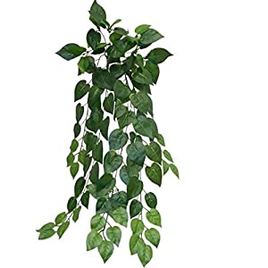 "40"" Green Philodendron Philo Hanging Greenery Silk Wedding Flowers Home Party Decor 103"