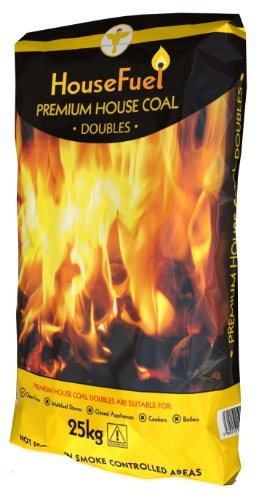 Premium Colombian House Coal Doubles 10 x 25kg Bags