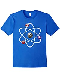 Billiards Atom Science Shirt, Billiards Pool Lovers T Shirt