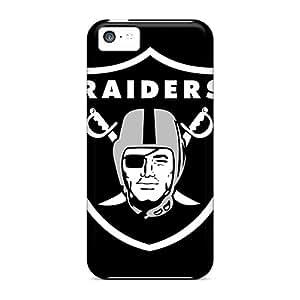 KennethKaczmarek Iphone 5c Excellent Cell-phone Hard Cover Provide Private Custom Fashion Oakland Raiders Image [xAr16932zfuK]