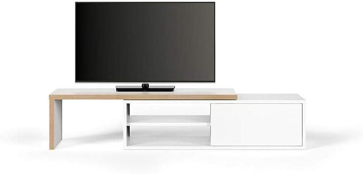 Tema Home Move - Mueble para TV Modular (Madera y Mate), Color Blanco Mate: Amazon.es: Hogar