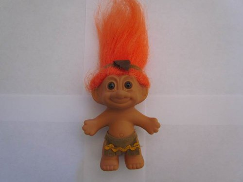 Russ Berrie..... Naked Troll, with Orange Hair