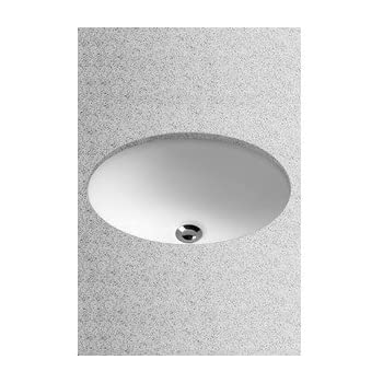 Toto LT577#01 15 Inch By 12 Inch Undercounter Lavatory Sink, Cotton