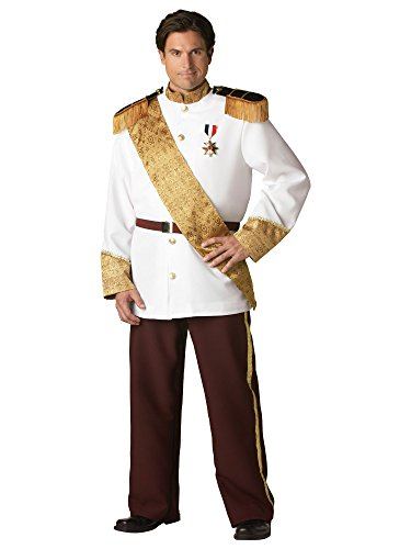 [Prince Charming Costume - XX-Large - Chest Size 50-52] (Storybook Prince Adult Mens Costumes)