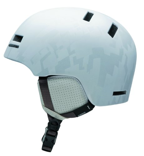 Snow Shiv (Giro Shiv 2009 Snow Helmet (White Exploded Argyle, Large))