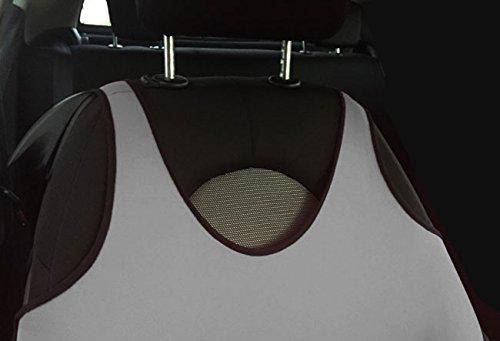 2 T-SHIRT GILET AVANT GRIS PROTECTIONS DE COUVRE-SIEGES