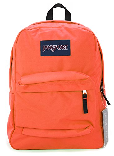 - Jansport Superbreak Backpack (Tahitian Orange)