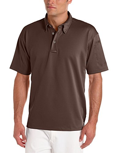 Mens Brown Ice - Propper Men's Ice Polo, Brown, Large
