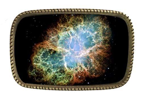 2010-Hubble-Space-Telescope-Advent-Calendar- Brass Belt Buckle Made In -