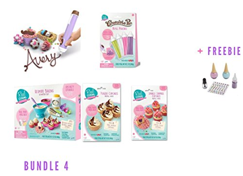 Real Cooking Chocolate Pen (Bundle 4 + Freebie) by Real Cooking