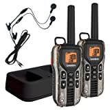 Uniden GMR4088-2CKHS Black Edition GMRS/FRS Two-Way Radio With Extra Long Battery Life, Emergency Strobe Light, NOAA Alert, Water Resistent, and Battery Strength Meter – CAMO