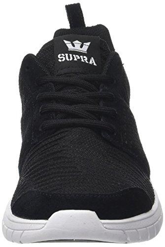 Supra Scissor Skate Schuh Schwarz / Weiß-Schwarz