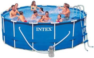 Intex 15-Foot Metal Frame Pool