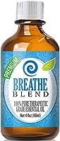 Breathe Blend 100% Pure, Best Therapeutic Grade Essential Oil - 10ml