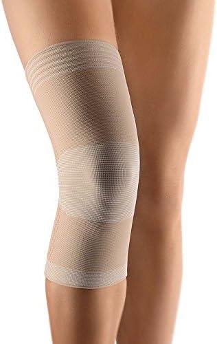 Bort Zweizug Kniestütze Bein Knie Bandage, stabiliseriend, hautfarben, M
