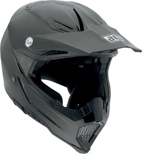 AGV AX-8 Evo Helmet (Black, Large)
