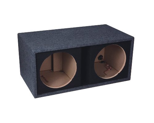 Fierce Audio - 10 Dual Ported / Vented Flat Pack Bass Subwoofer Enclosure / Box - FPSP210.1 42187