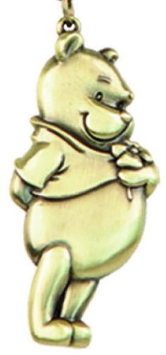 - Disney Pooh Brass Pewter Key Ring