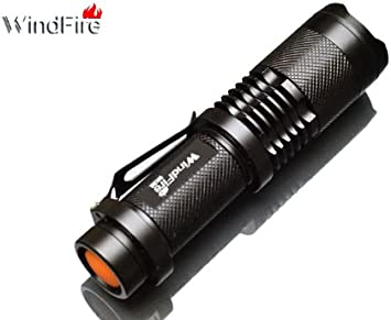 Super Bright Zoom 5Modes Mini XM-L2 T6 LED USB Rechargeable Flashlight Torch