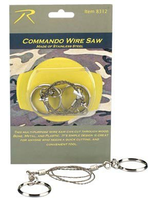 Commando Wire Saw, Outdoor Stuffs
