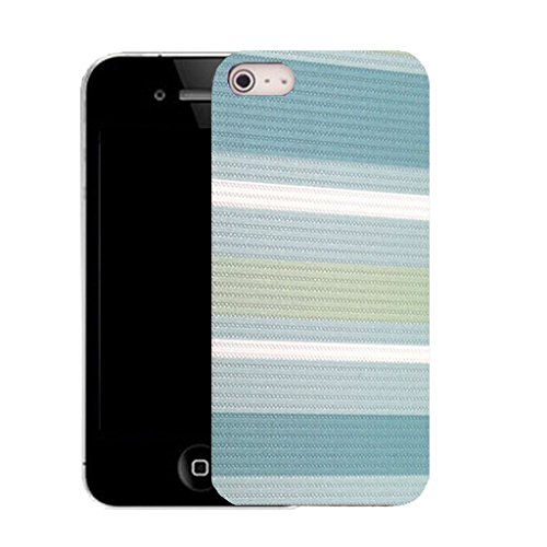 Mobile Case Mate IPhone 5 clip on Silicone Coque couverture case cover Pare-chocs + STYLET - analytical pattern (SILICON)