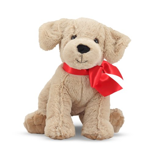 Melissa & Doug 7480 Stuffed Yellow Lab Puppy Doll ()