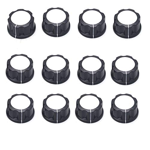 (Antrader 33mm Top Rotary Knobs for 6mm/ 0.25