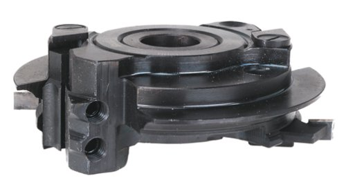 Freud RS-R Replacement Cutter Head For RS1000 Or RS2000 Rail And Stile Insert Shaper Cutter, 1-1/4 Bore