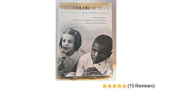 The color of man, : Robert Carl Cohen: 9780394810393: Amazon.com: Books