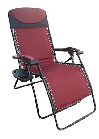 Deluxe Big U0026 Tall Outdoor Recliner (Fully Padded For Ultimate Comfort),  375lb Weight