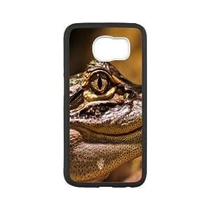 Case for Samsung Galaxy S6, American Alligator Case for Samsung Galaxy S6, Jumphigh White