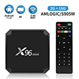 Android 7.1.2 Tv Box X96 Mini Android Tv Box with 2GB RAM 16GB