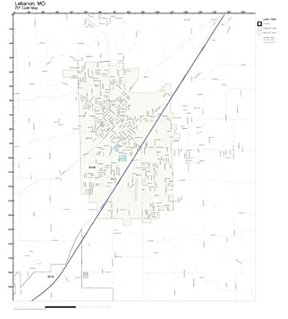 Amazon zip code wall map of lebanon mo zip code map not zip code wall map of lebanon mo zip code map not laminated sciox Image collections