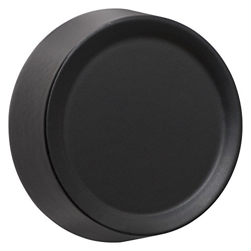 Amerelle 947BK Cast Dimmer Knob, Black (Universal Plate Security Adapter)
