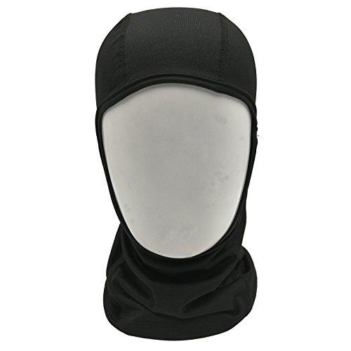NAEE Headwear Balaclava Black Windproof Ski Mask Face Mask for Skiing Snowboarding Motorcycling Biking and Winter Sports -