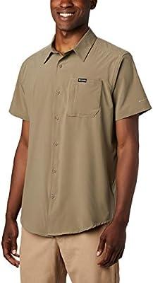 Columbia Triple Canyon Camisa de Manga Corta, Hombre, Verde (Sage), XXL: Amazon.es: Deportes y aire libre