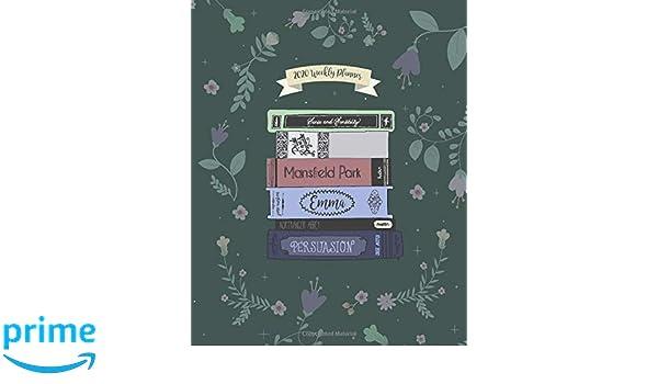Amazon.com: 2020 Weekly Planner: Jane Austen Weekly ...