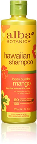 Alba Botanica, Moisturizing Hair Wash, Mango, 12 oz