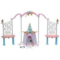Barbie como la princesa y el pobre: boda doble y juego de tocador