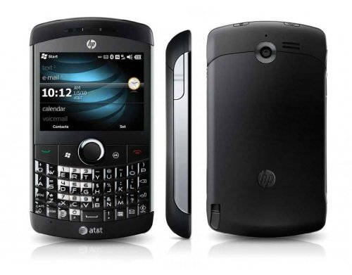 HP iPAQ Glisten AT&T Locked QuadBand GPS WiFi HSDPA Cellular Phone - Windows Mobile 6.5 Professional - Black