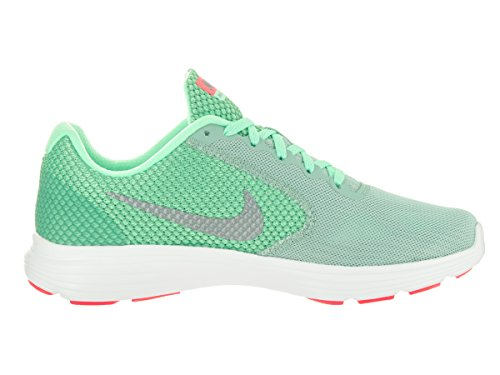 Nike Women's 819303-008 Trail Running Shoes Multicoloured (Cannon / Metallic Cool Grey - Green Glow) BZYdzv