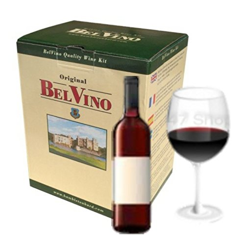 - BelVino 7 Day Wine Making Kit - South African Red - Homebrew 23L Fruit Included