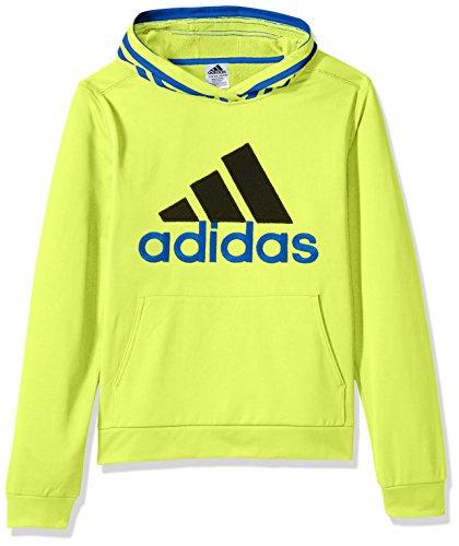 - adidas Boys' 3T Athletic Pullover Hoodie, Solar Yellow Block, 3T