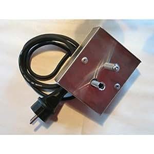 Edelstahl Grillmotor 230 Volt für Grillgut bis 10kg