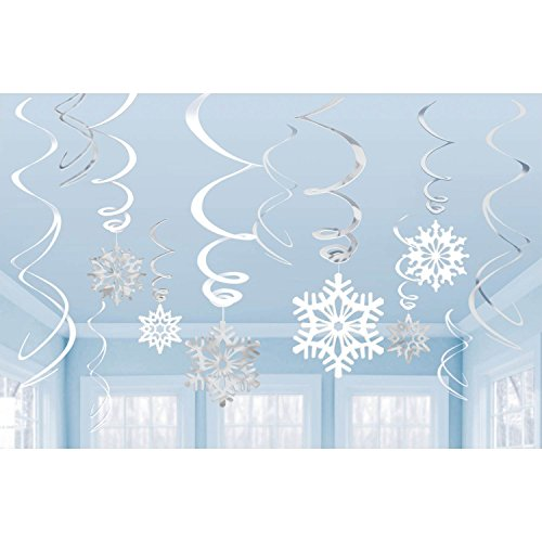 Kids Petal Cars (Amscan Snowflake Swirl Decorations 12 Ct)