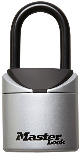 - Master Lock Lock Box, Set Your Own Combination Portable Key Safe, 2-3/4 in. Wide, 5406D