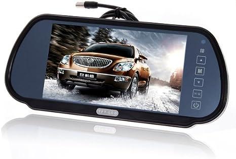 7 Zoll Lcd Tft Auto Kfz Monitor Rückspiegel Für Elektronik